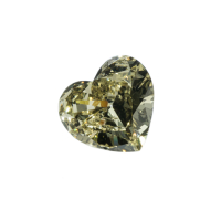 coulored heart diamond