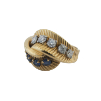 ring sapphires & diamonds