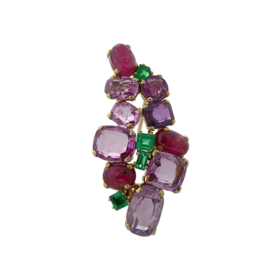 gemset brooch