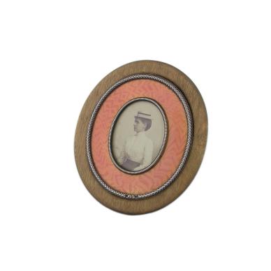fabergé wooden photo frame